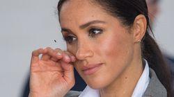 Una controvertida imagen de Meghan Markle con el príncipe Enrique genera