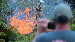 La violenta erupción del volcán Kilauea en