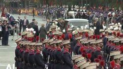 El curioso incidente en la llegada del rey el 12 de octubre que ha tardado 5 días en