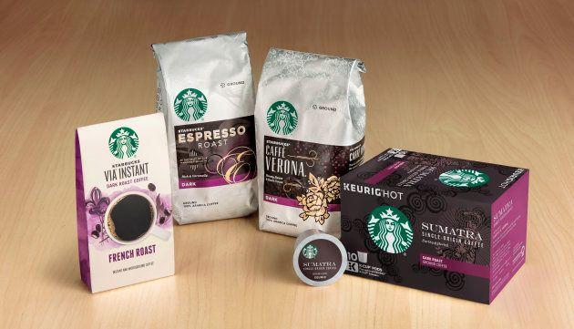Productos de Starbucks que venderá