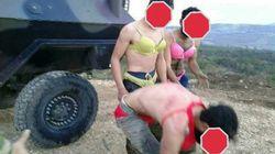 Detenidos tres soldados turcos por maltratar a refugiados