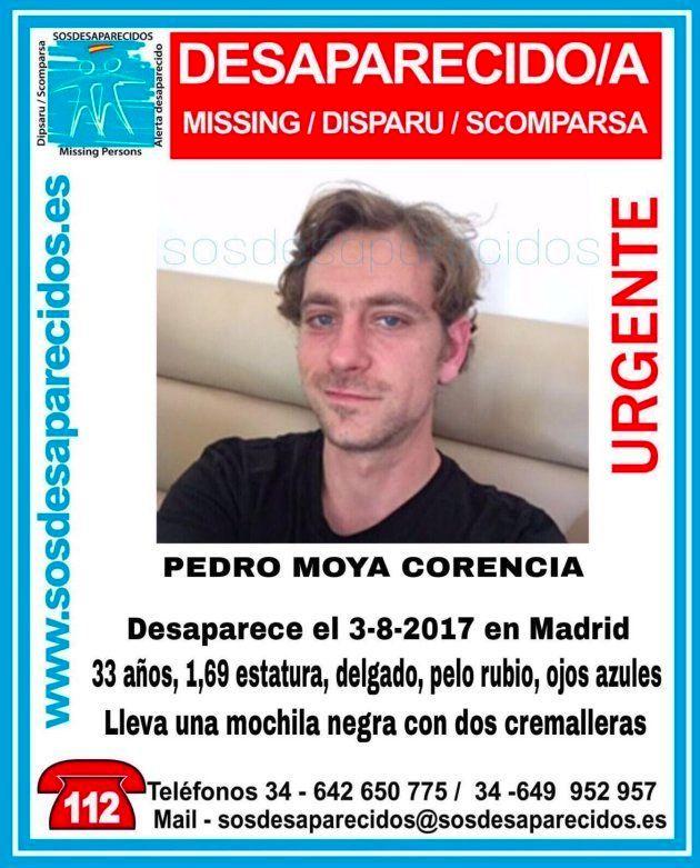 Desaparecido un hombre de 33 años tras salir de su casa en Madrid para ir a