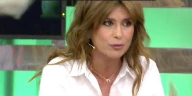 Gema López durante su intervención en
