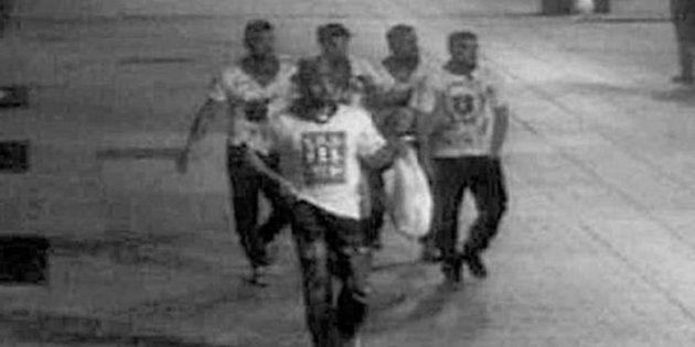 El miembro más joven de 'La Manada', cambiado de módulo por pegar una paliza a un condenado por abuso