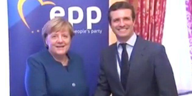 Angela Merkel y Pablo