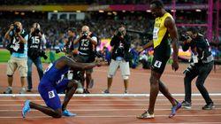 La imagen de la reverencia de Gatlin a Bolt que ya es historia del