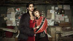 Úrsula Corberó y Alba Flores se besan para celebrar el fin de rodaje de 'La casa de