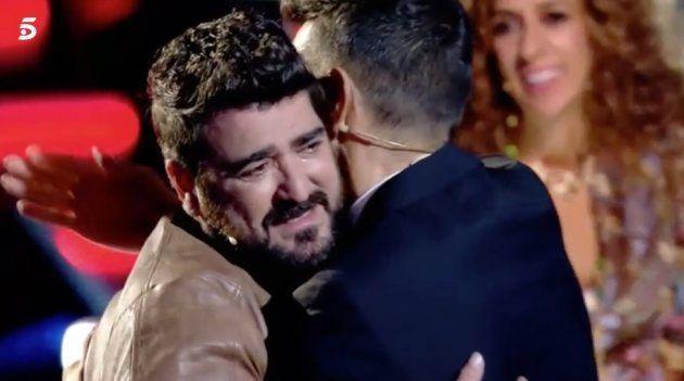 Antonio Orozco se derrumba al recordar a la madre de su hijo en 'La Voz