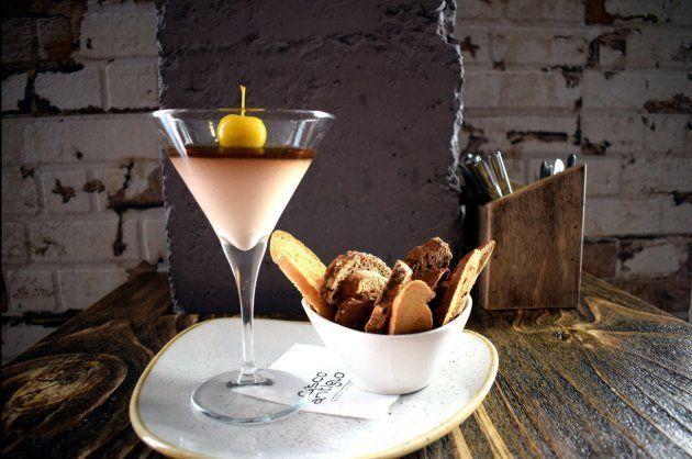 Cremoso de foie con gelatina de vino