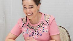 La hilarante imagen de Emilia Clarke junto a Kit Harington en