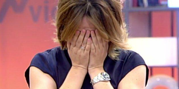 Drama en directo: una mujer llora al perder 40.000 euros en