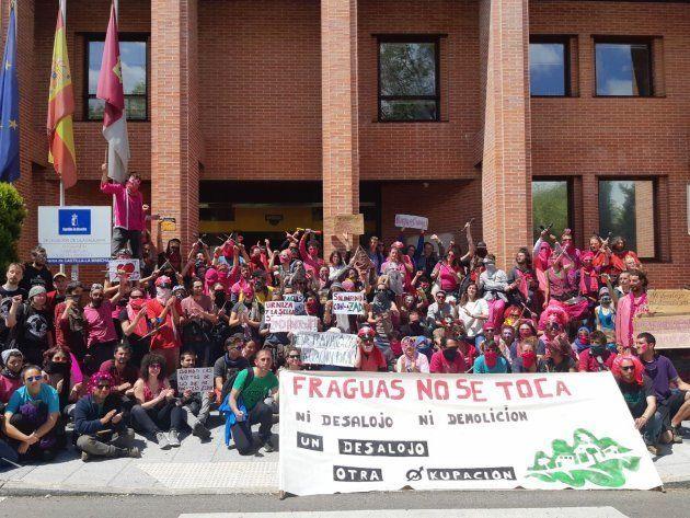 Manifestación en Guadalajara, ante la Consejería de Agricultura y Desarrollo