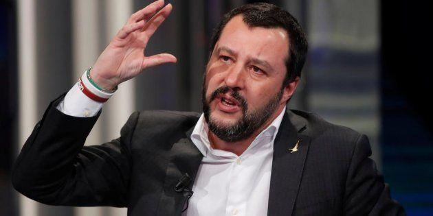 Imagen de archivo del ministro del Interior, Matteo