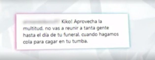 Las horribles amenazas a Kiko Rivera en