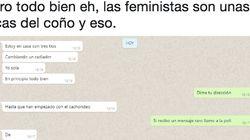 La conversación de WhatsApp que muestra el terror que viven muchas