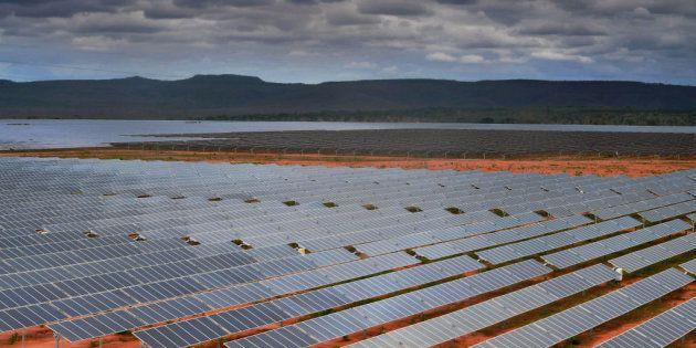 Pirapora, Brasil, la mayor planta de energía fotovoltaica de