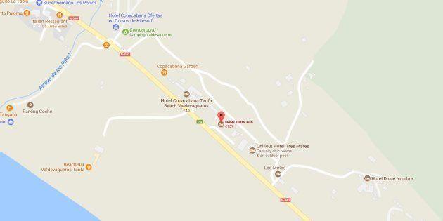 Muere una joven tras la explosión de un hotel en Tarifa