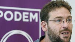 El líder de Podemos en Cataluña asegura que no dimitirá aunque Iglesias se lo haya