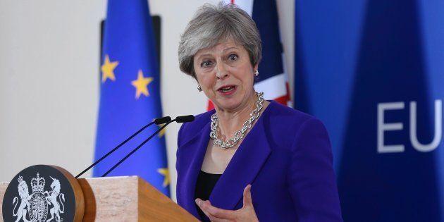 La primera ministra británica Theresa