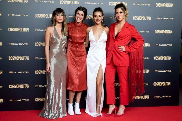 Aitana, Amaia, Ana Guerra y Miriam en los Cosmo Awards