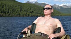 El tuit sobre las vacaciones de Putin que arrasa en