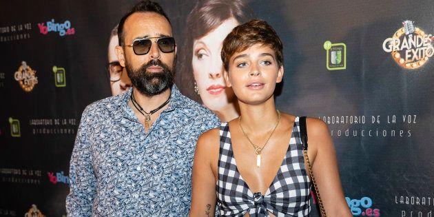 El publicista y presentador Risto Mejide y la modelo Laura