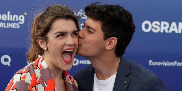 ¿Cómo quedarán Amaia y Alfred en Eurovisión 2018?