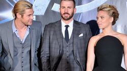 El tatuaje que comparten Scarlett Johansson, Chris Hemsworth y Chris