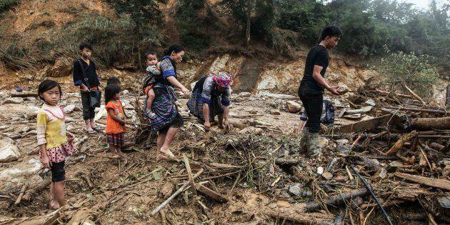 Las inundaciones en Vietnam dejan 26 muertos y 200 viviendas