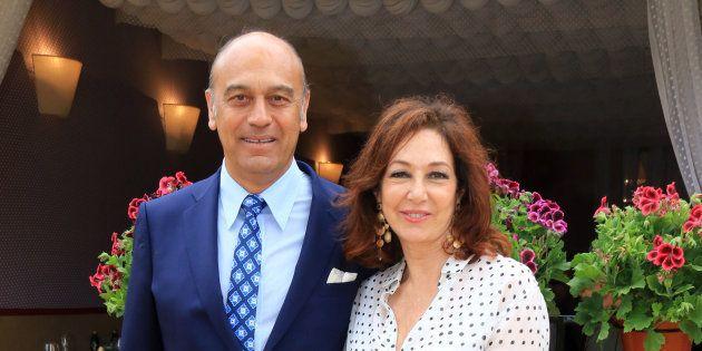 La presentadora Ana Rosa Quintana y su marido, el empresario Juan