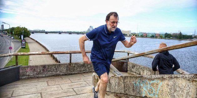 Rajoy, sobre su lumbalgia: