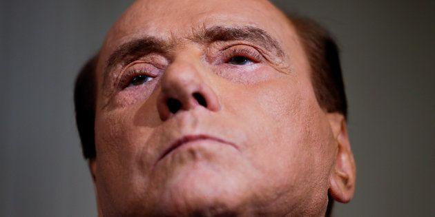 Silvio Berlusconi, líder de Forza Italia, retratado en el Palacio del Quirinale de Roma, el pasado 12...