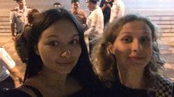 Detienen en Rusia a dos activistas de Pussy Riot por una protesta no