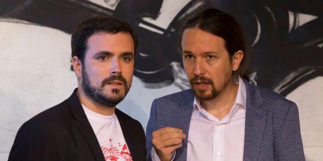 Pablo Iglesias y Alberto