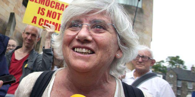 Clara Ponsatí, exconsellera huida a Escocia: