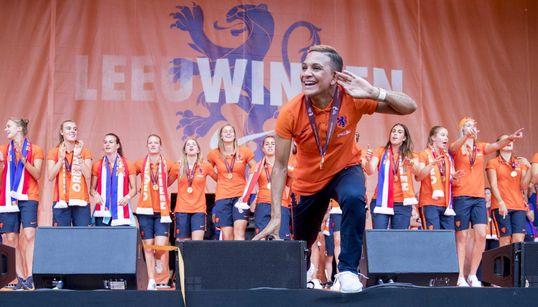 ¡Bravo!: Holanda se echa a la calle para aplaudir a sus campeonas de