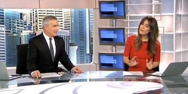 David Cantero e Isabel Jiménez, presentadores de 'Informativos