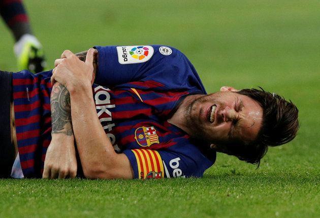 La espeluznante lesión de Messi que le ha dejado sin 'clásico' ante el
