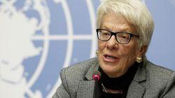 Carla del Ponte deja la comisión de investigación de ONU sobre crímenes en Siria porque no hace