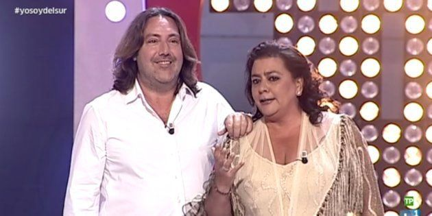 María Del Monte en el programa 'Yo soy del