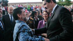 Maradona apoya a Maduro y se ofrece como soldado
