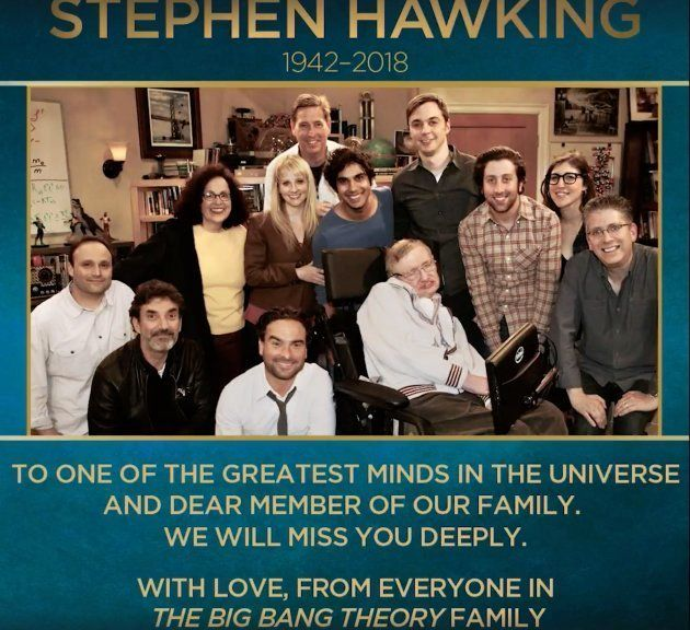 El último homenaje a Stephen Hawking en un capítulo de 'The Big Bang
