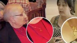 Una mujer encuentra un collar desaparecido de su madre muerta al ver el programa de