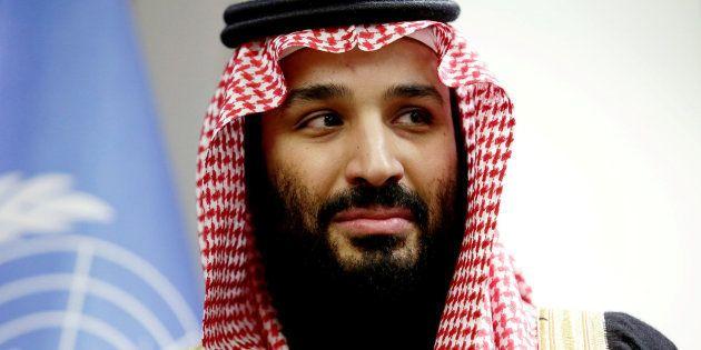 Imagen de archivo del príncipe heredero de Arabia Saudí, Mohammed bin