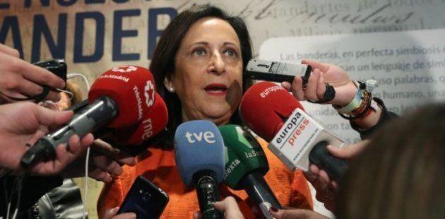 Imagen de archivo de la ministra de Defensa, Margarita
