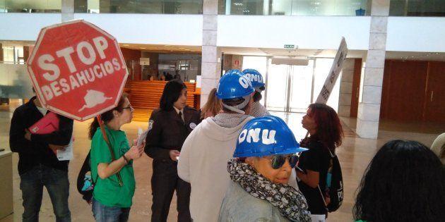 Protesta en favor de Safira Sánchez, en