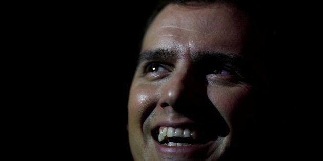 Albert Rivera, líder de Ciudadanos, en un mitin celebrado en Barcelona en diciembre de