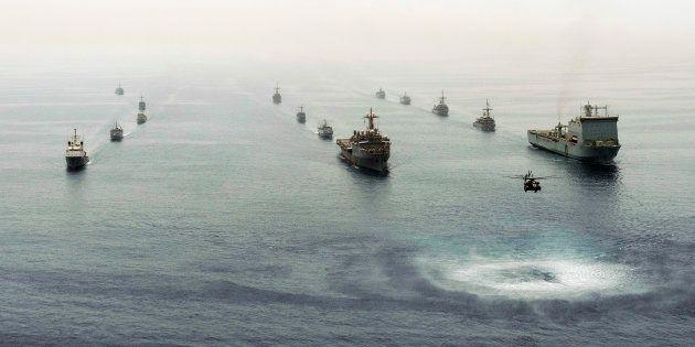 La Quinta Flota, en una imagen de