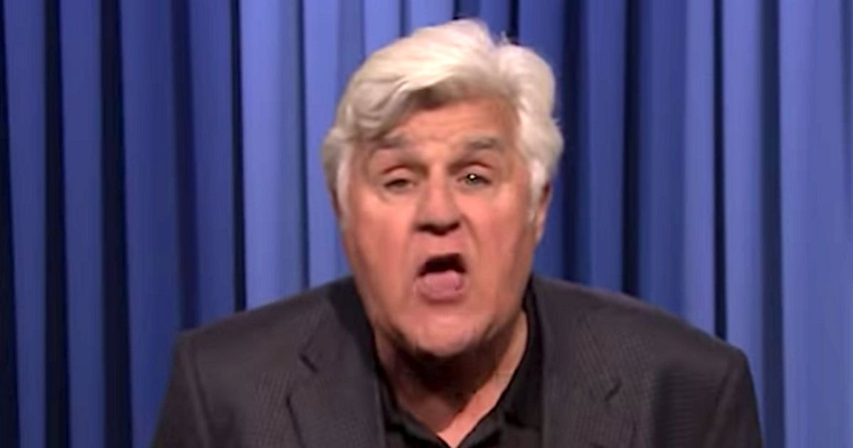 Jay Leno Does 'Angry' Trump-Free Monologue On 'The Tonight Show'