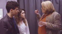 El genial corto de Paquita Salas, Alfred y Amaia antes de